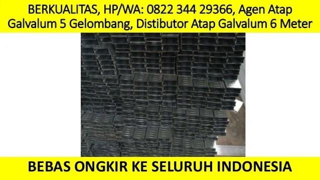 harga rangka atap baja ringan klaten berkualitas hp wa 0822 3442 9366 agen galvalum 5 gelombang