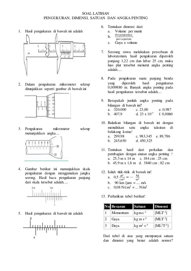 Contoh Soal Jangka Sorong Dan Mikrometer Sekrup : contoh, jangka, sorong, mikrometer, sekrup, Pengukuran, Mikrometer, Sekrup, IlmuSosial.id