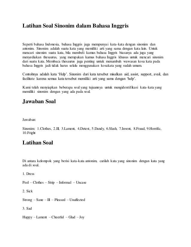 Istilah - Istilah dalam Akuntansi Lengkap (Bahasa Inggris