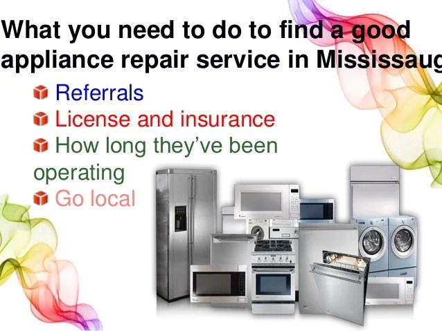 Learn how to choose the best appliance repair service in ...