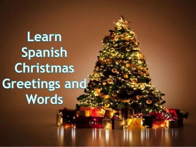 learn spanish christmas greetings