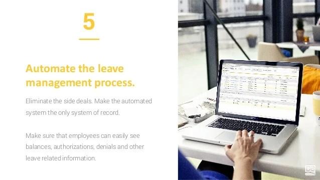 10 Leave Management Best Practices