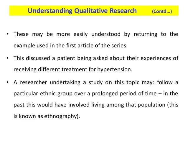 Understanding Critiquing Quantitative Research Papers Nursing Times