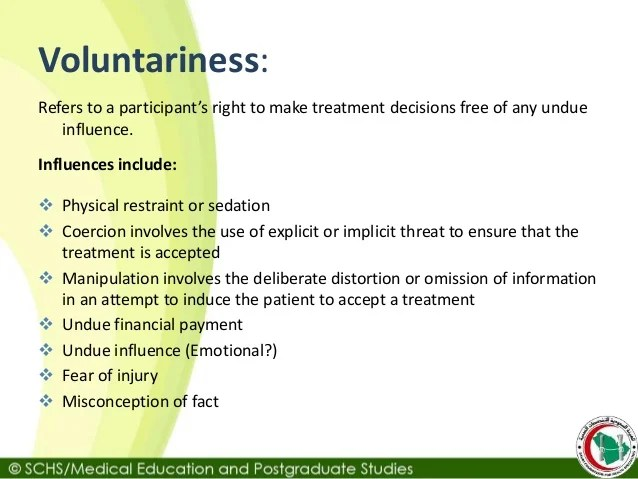 Lecture 11 informed consent to treatment
