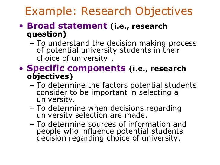 Problem Identification In Marketing Research Coursework Help
