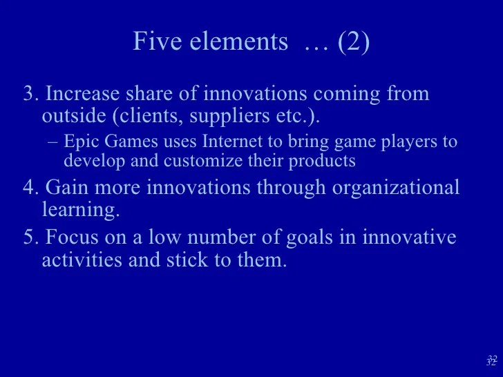 Growth Strategies Internal Environment Sources For Growth