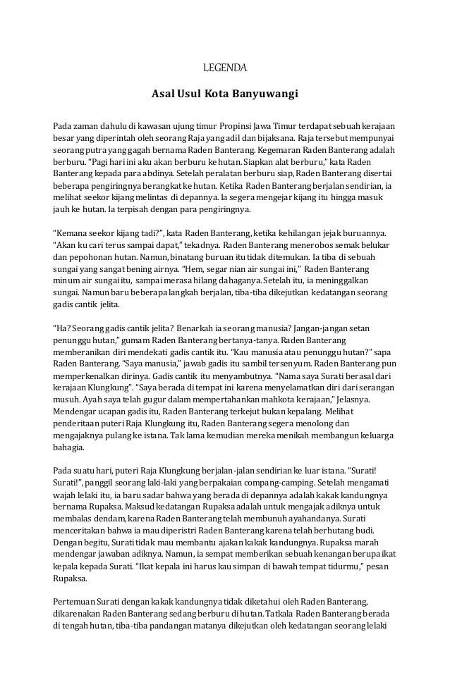 Fabel Bahasa Jawa : fabel, bahasa, Legenda,, Sage,, Fabel,