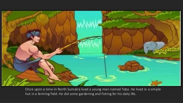 Legenda Danau Toba   Legend Of Lake Toba