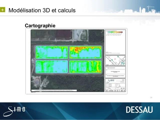 Modlisation 3D Et Calculs Pour La Gestion De Bassins De