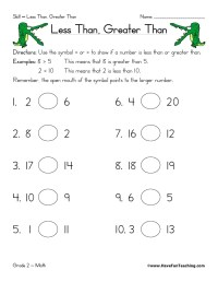 Less than-greater-than-worksheet