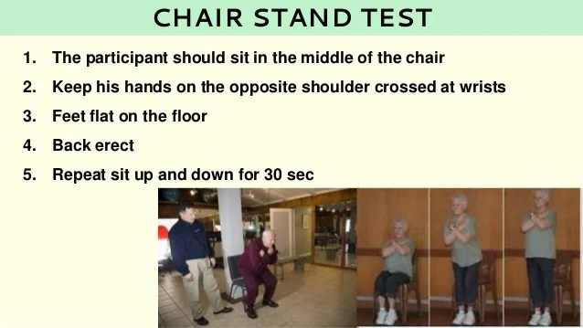 chair stand test measure portable table and chairs measurement in sports senior citizen fitness 33 1