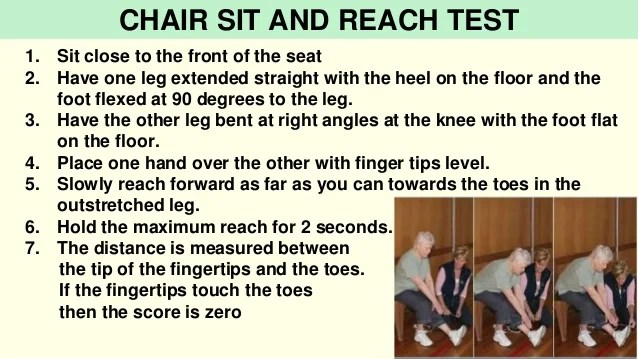 chair stand test measure quality leather dining chairs and measurement in sports 37 1