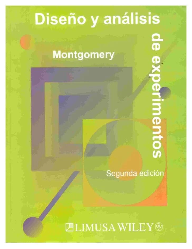 Libro analisis y diseo de experimentos de mongomery