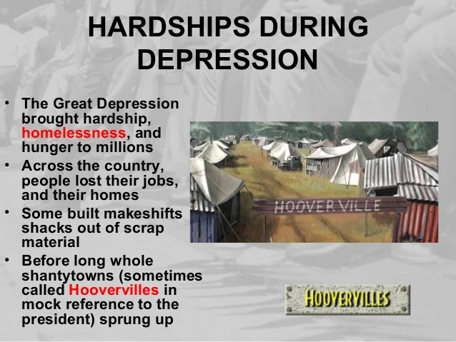 Life During Great Depression 2010