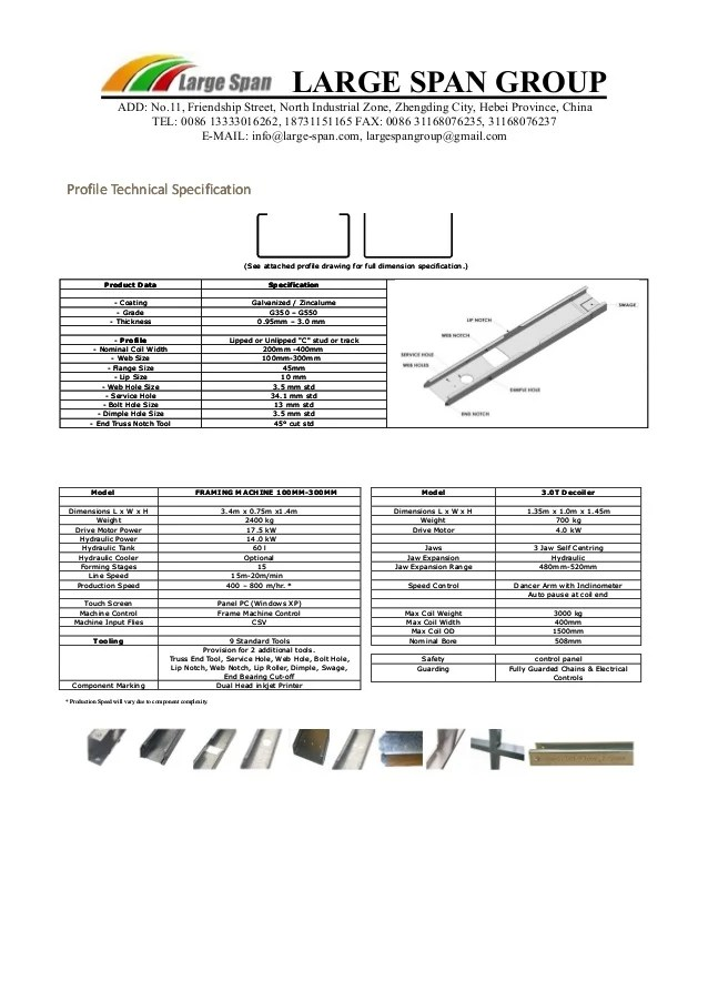 Light Gauge Metal Framing Sizes Decoratingspecial Com