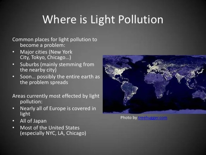 what is light pollution and why is it a problem   Adiklight co