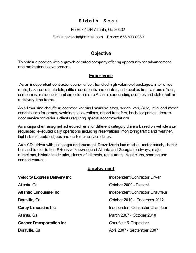 Sample Resume Limousine Driver. Resume. Ixiplay Free Resume Samples