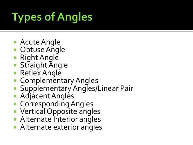 Are Alternate Interior Angles Supplementary