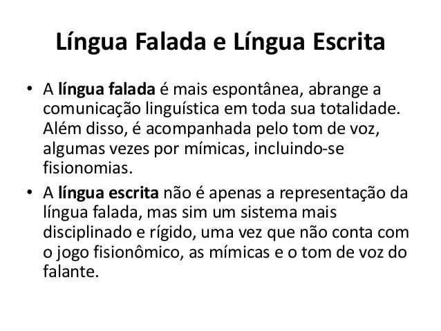Linguagem Língua E Fala