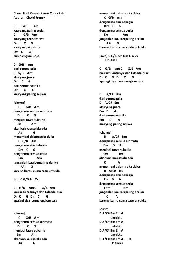 Untuk Perempuan Dalam Pelukan Chord : untuk, perempuan, dalam, pelukan, chord, Lirik, Chord