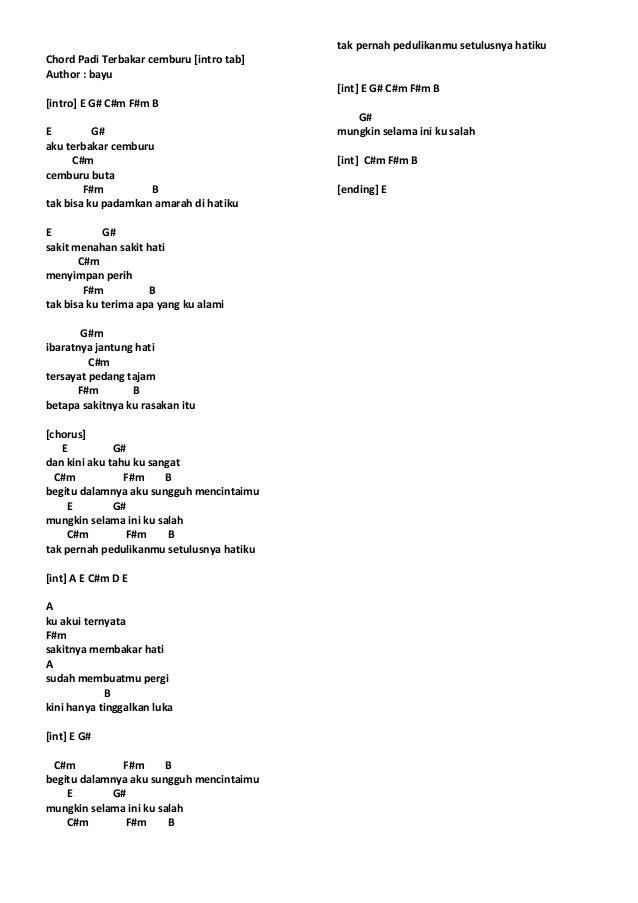 Betapa Hebat Lirik : betapa, hebat, lirik, Chord, Penghibur, Walls