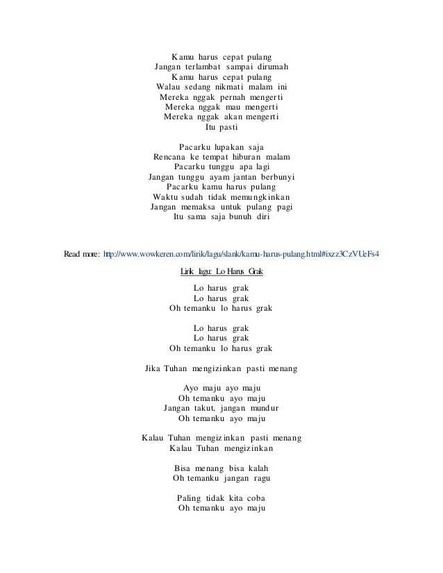 Kamu Harus Pulang Lirik : harus, pulang, lirik, Chord, Gitar, Slank, Harus, Pulang, Walls