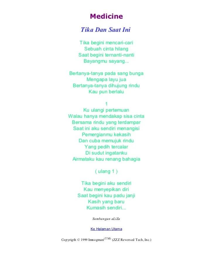 Hanya Rindu Lirik : hanya, rindu, lirik, Lirik