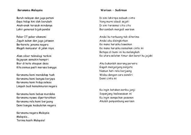 Lirik Lagu Warisan Sudirman Lirik Lagu Lirik Disini Cuitan Dokter