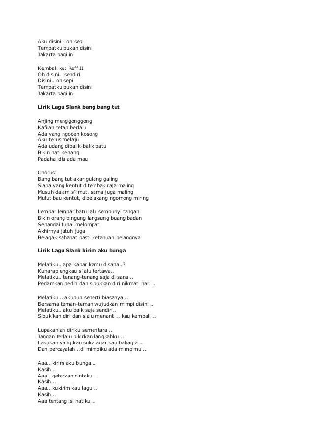 Lirik Lagu Tentang Aku, Kau dan Dia - Kangen Band - Lirik Lagu...