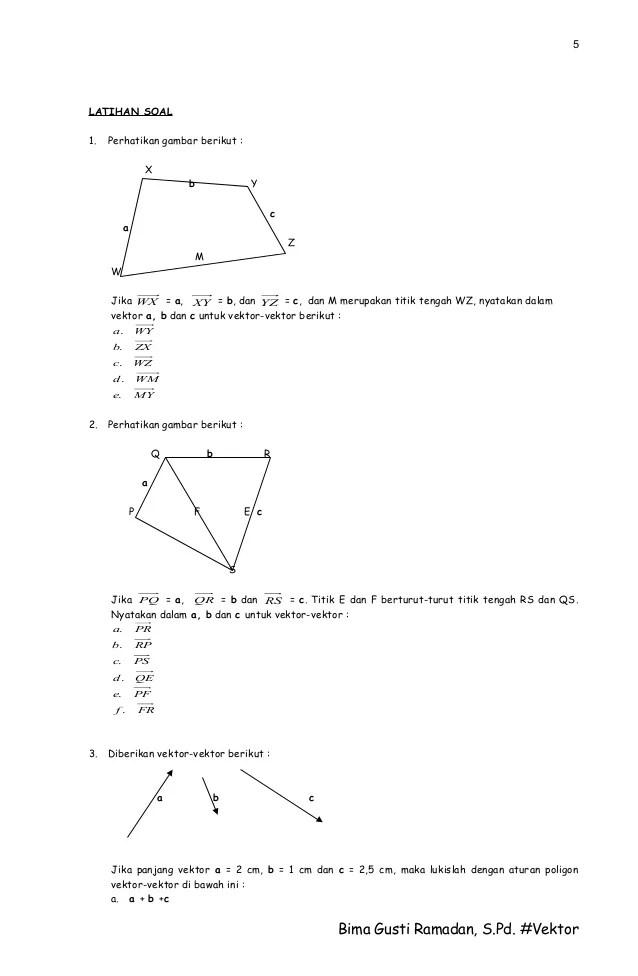 Vektor Matematika Peminatan : vektor, matematika, peminatan, Vektor, Panjang, Satuan, Matematika, Kurikulum, Cute766
