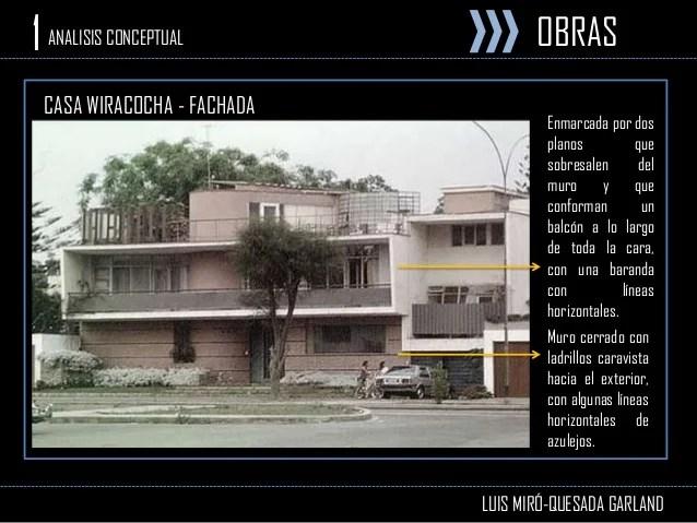 Arquitecto Luis Miro Quesada Garland