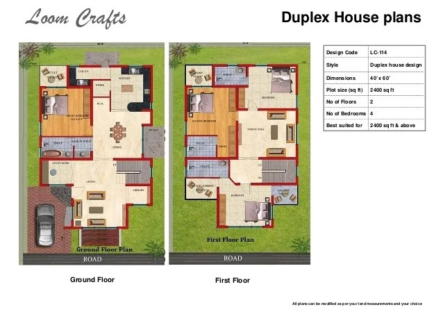 loom crafts home planscompressed 15 638?cb=1431694117 30 40 duplex house plans west facing designmore,30 By 40 Duplex House Plans