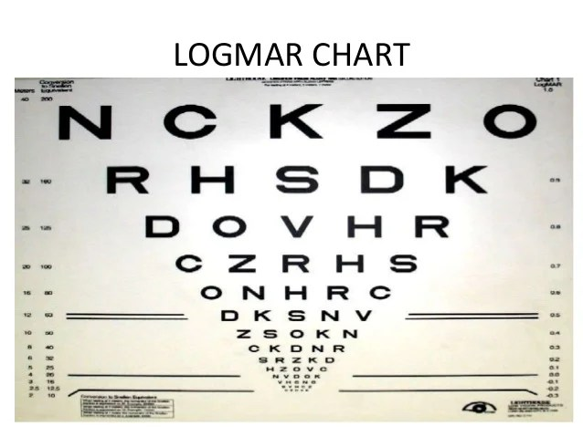 cardiff acuity  the test also low vision chart rh slideshare