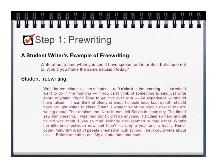 Lp Essaywriting Prewriting