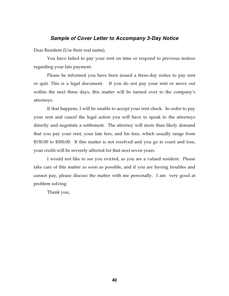 Property Manager Introduction Letter To Residents  mamiihondenkorg