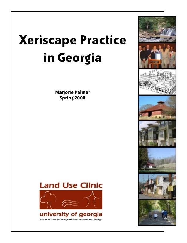 xeriscape practice in georgia