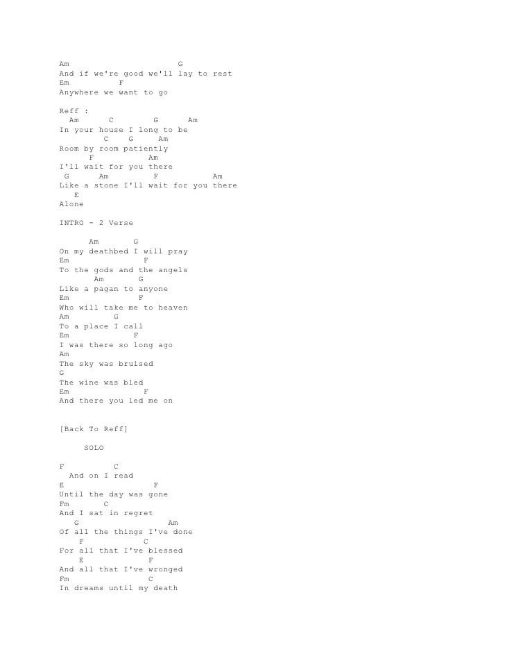 Audioslave Like A Stone Chord : audioslave, stone, chord, Audioslave, Stone, Lyrics
