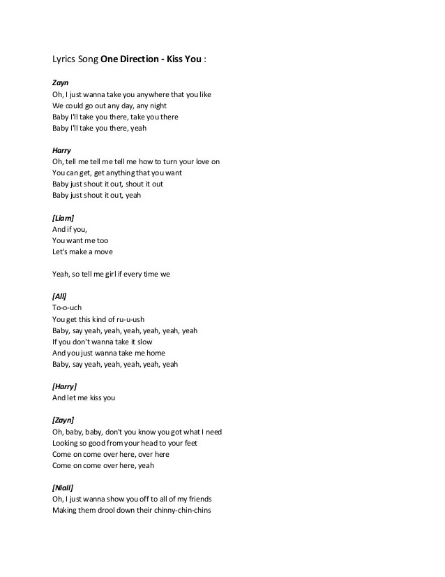 Baby If You Want Me Song : Lyrics, Direction