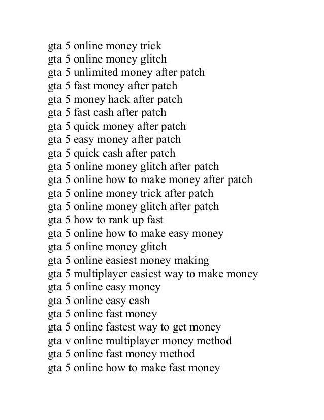 Gta 5 Ps4 Geld