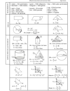 Volume formula chart ma sampletest hs also keninamas rh