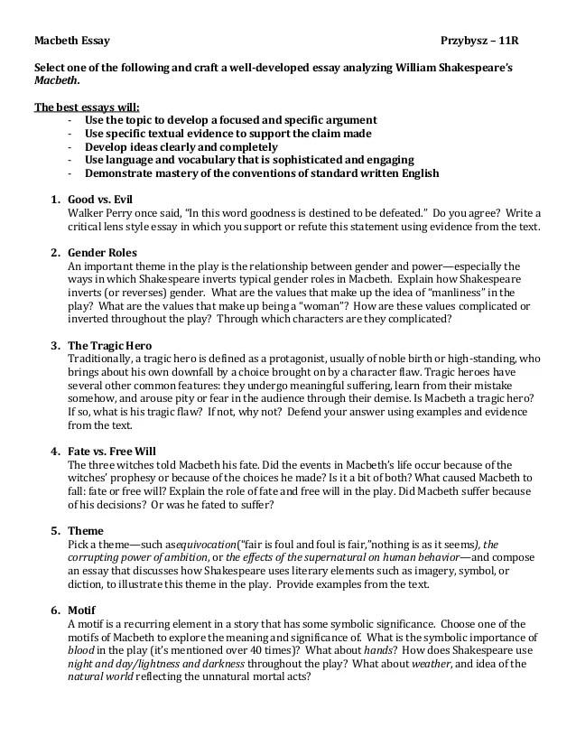 macbeth essay prompts for high school Prompts for writing essays  macbeth essay prompts  poverty experience to kill a mockingbird essay prompts essay in persuasive essay prompt high school,.