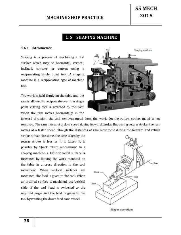 Lathe Machine Shop Pdf