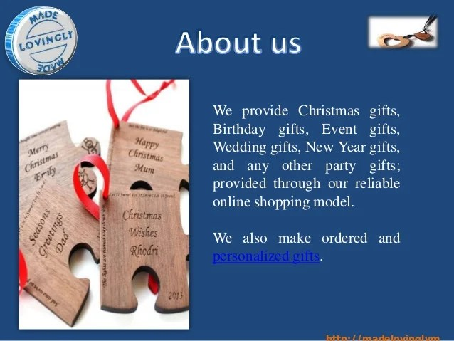 personalised christmas gifts for