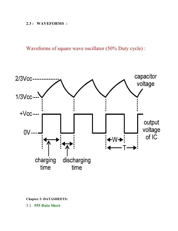 555 square wave generator