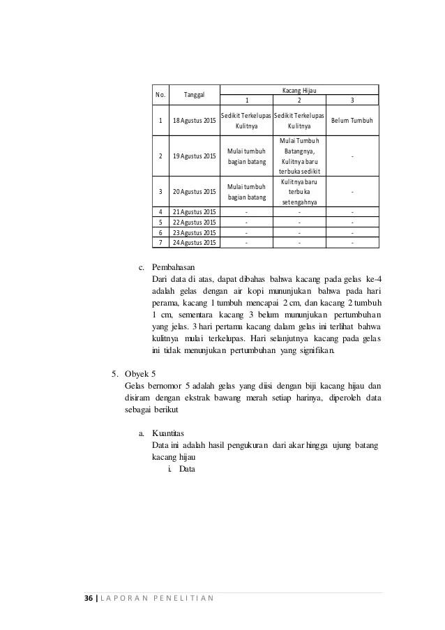Contoh Makalah Penelitian Kacang Hijau Contoh Bass Cute766