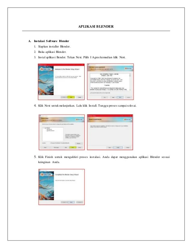 Fitur Aplikasi Blender : fitur, aplikasi, blender, Menginstal, Blender, Serta, Fungsi, Fitur