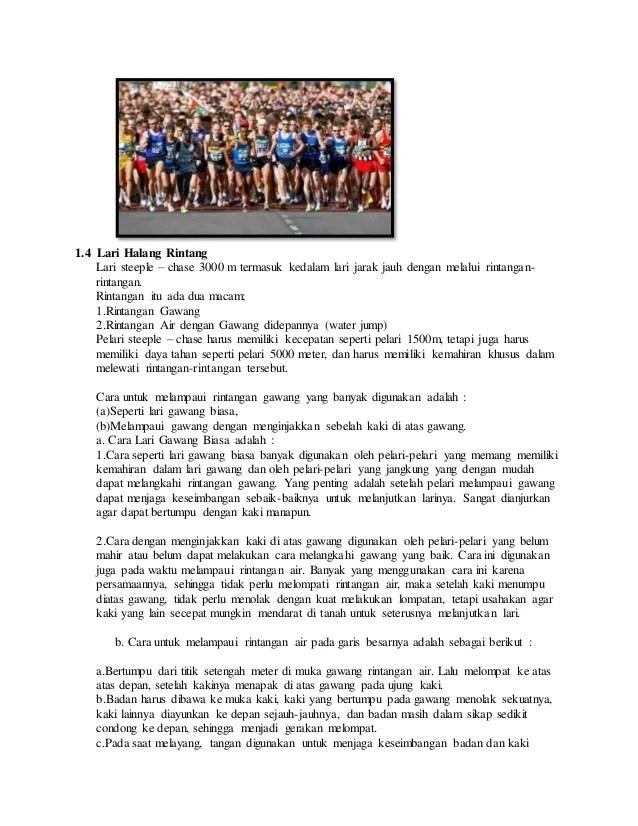 Artikel Atletik Lari : artikel, atletik, Kliping, Atletik, Sketsa