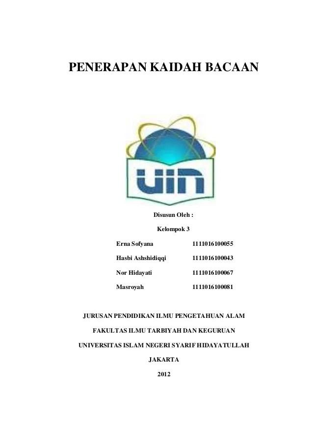 Contoh Makalah Bahasa Indonesia Doc Cute766