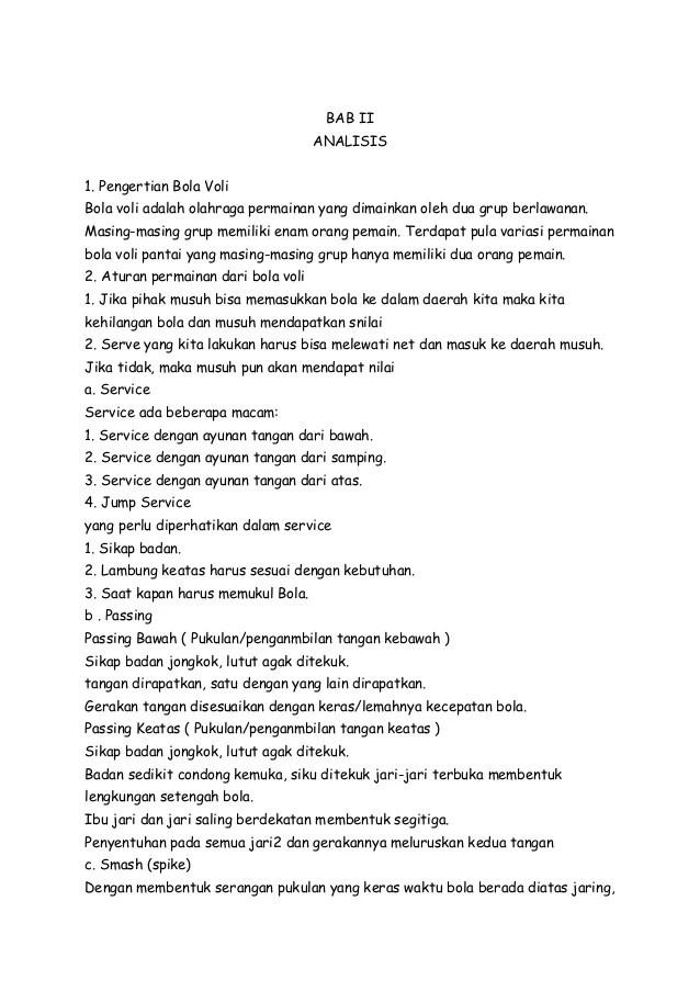 Makalah Bola Voli : makalah, Gambar, Makalah, Kabupaten, Permainan, Rebanas