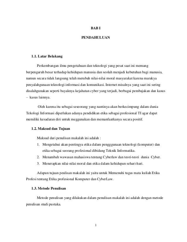 Makalah Etika Komunikasi : makalah, etika, komunikasi, Makalah, Etika, Profesional, Komputer